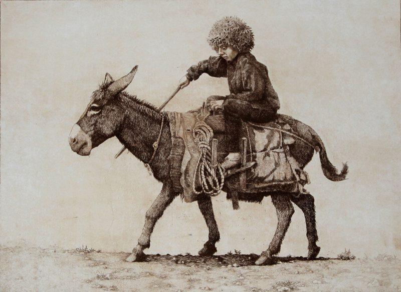 Gonchar-Andrej-A.YUnyj-naezdnik-2014g.-ofort-travl.-shtrih245h32-e1531412193127