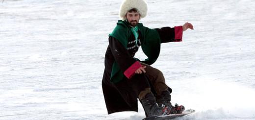 """Все на лыжи! Горнолыжный курорт """"Чиндирчеро"""""""