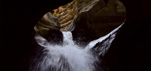 Путешествие выходного дня. Пещерный водопад у села Салта
