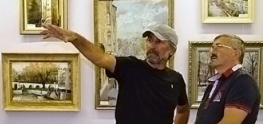 Воздух родины в картинах Шихшабека Кадиева