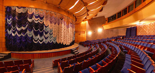 Субботний вечер, в гостях у Русского театра