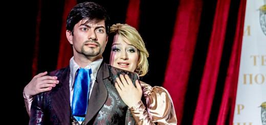 Встреча в Театре поэзии. Актриса и депутат Анна Безрукова