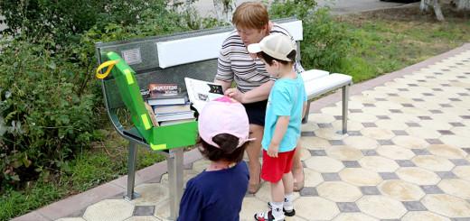 Первая литературная скамейка Махачкалы