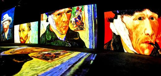 «Живые полотна» Ван Гога в Махачкале