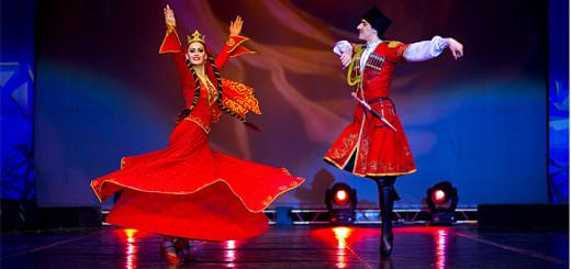 Совместный концерт ансамблей «Лезгинка» и «Алан» в Махачкале