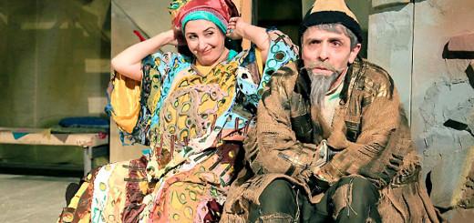 Молла Насреддин. Искрящийся юмор на сцене Лакского театра
