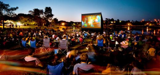 Фестиваль уличного кино в Махачкале