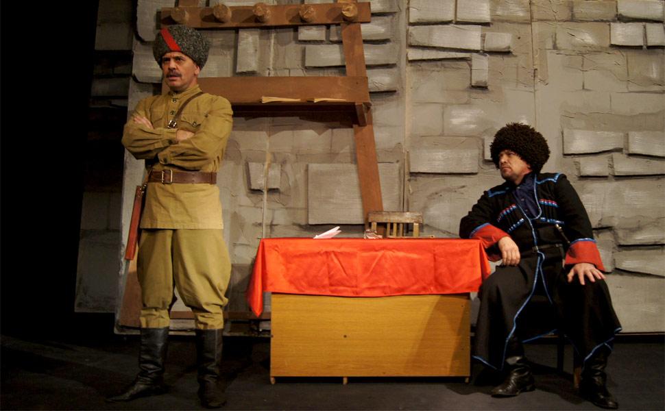 """Спектакль """"Насилие"""" как отражение сложной жизни горцев до и после революции"""