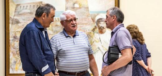 В Махачкале проходит выставка картин болгарского художника Жеко Стоянова-Строганоффа